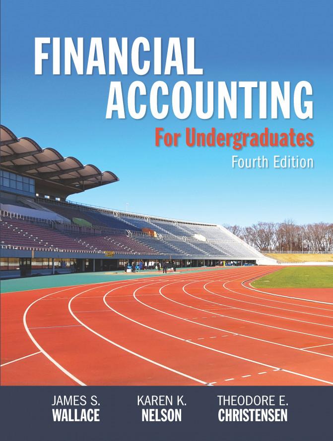 Financial Accounting for Undergraduates, 4e