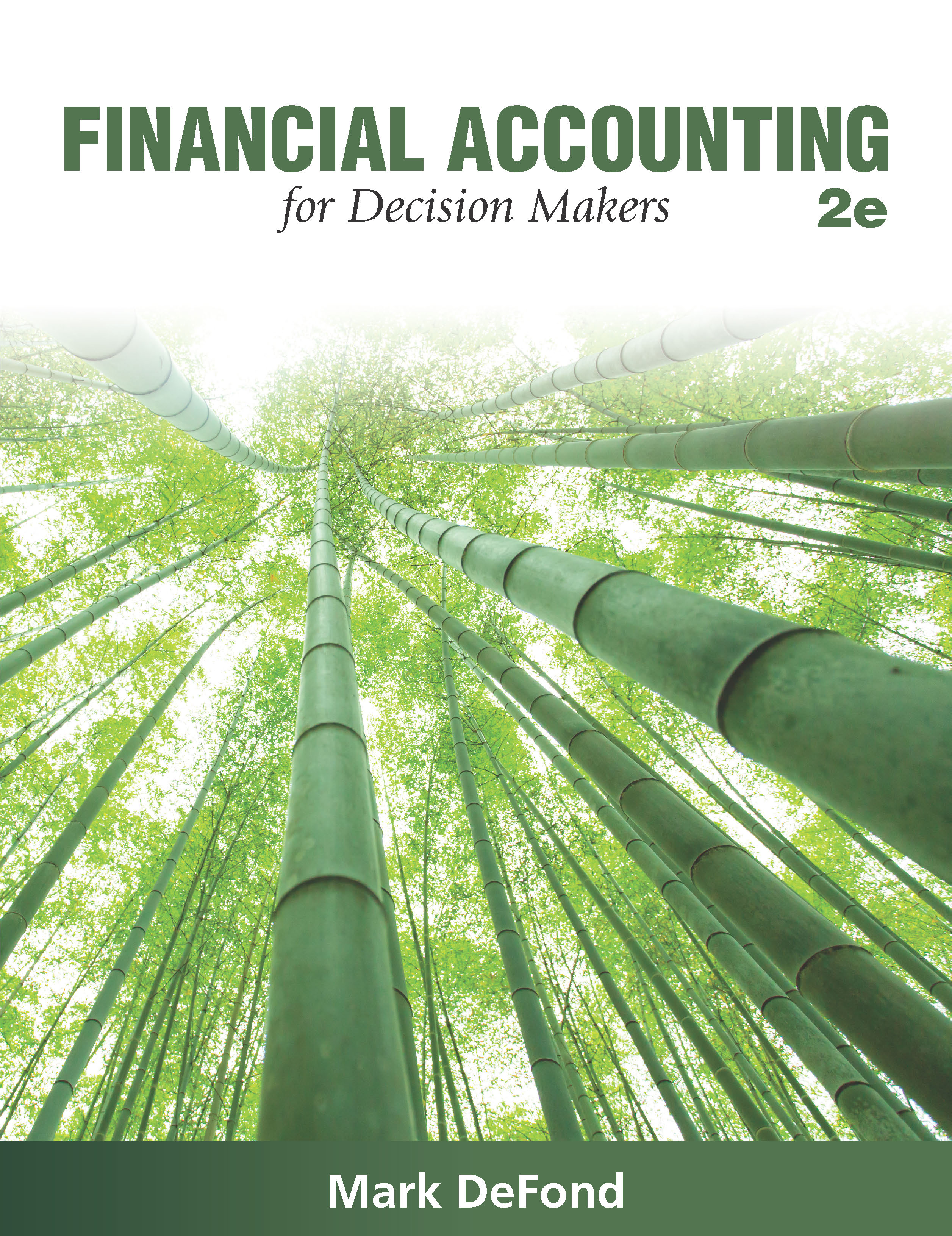 Financial Accounting for Decision Makers, 2e