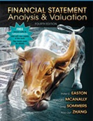 Financial Statement Analysis & Valuation, 4e