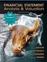 Financial Statement Analysis & Valuation, 4e