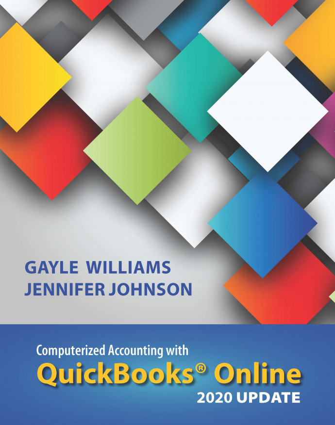 Computerized Accounting with QuickBooks Online, 4e