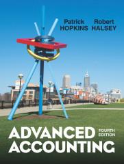Custom Advanced Accounting, 4e (Hopkins/Hamlen) - Bellevue