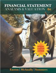 Custom Financial Statement Analysis_ACC 603 (University of Alabama-Huntsville)