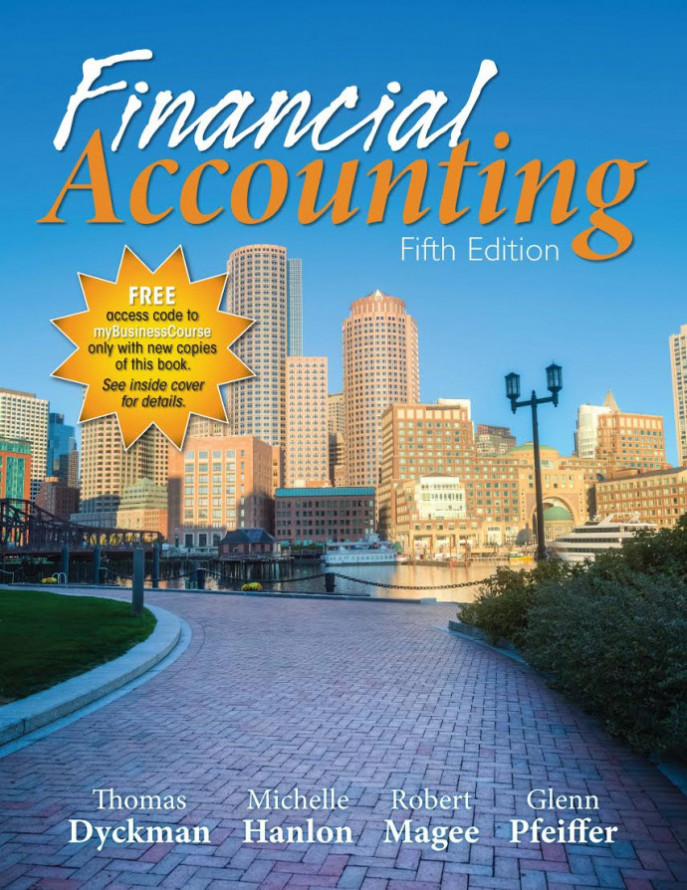 Standalone - Financial Accounting, 5e