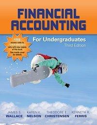 Financial Accounting for Undergraduates, 3e