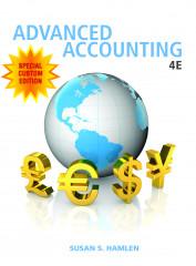 Custom Advanced Accounting, 4e (SUNY - Buffalo)