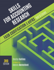 Skills for Accounting Research, 3e