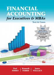 Financial Accounting for Executives & MBAs, 4e