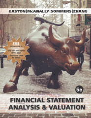 Financial Statement Analysis & Valuation, 5e