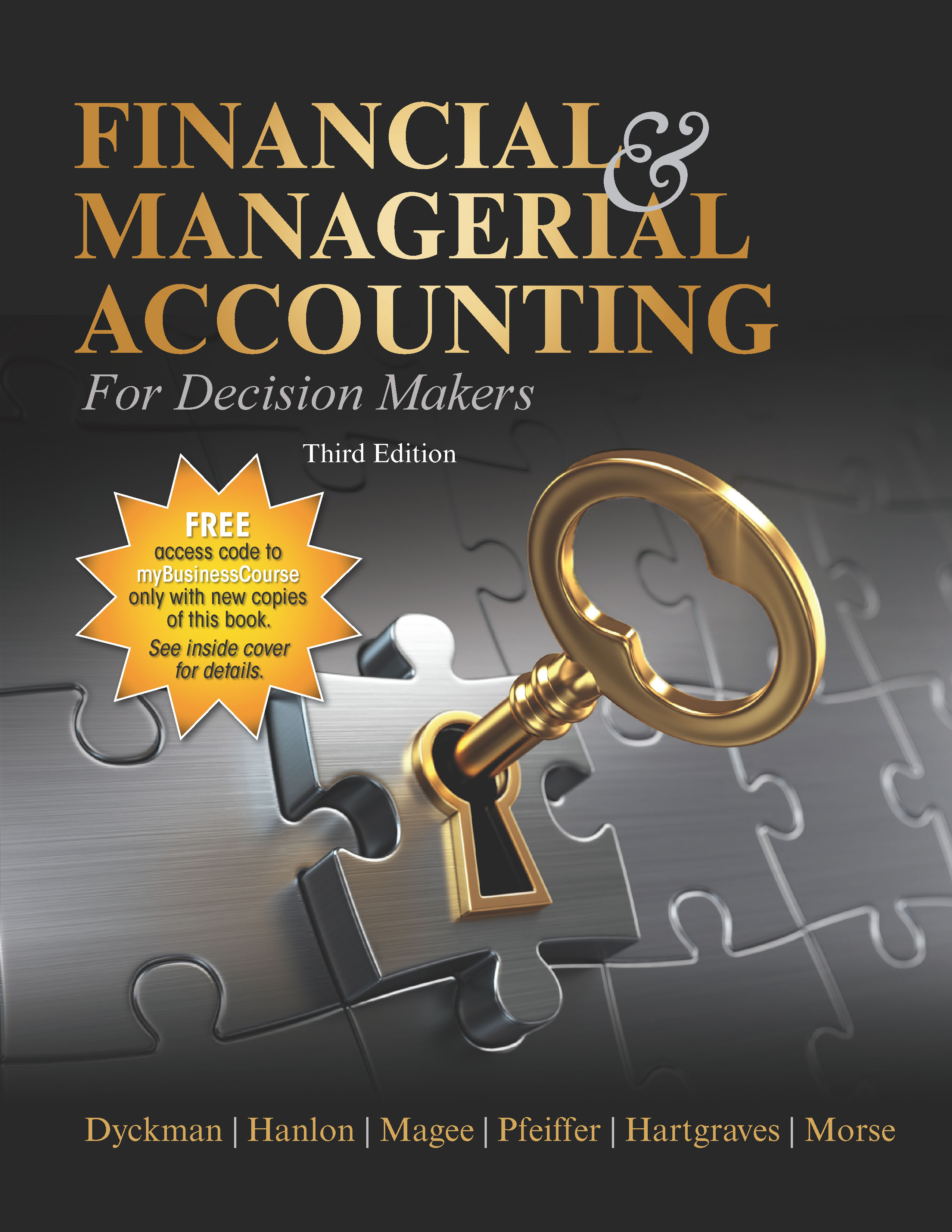 Financial & Managerial Accounting for Decision Makers, 3e
